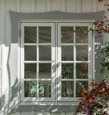 Fönster till vårt hus i Stockholm